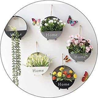 Wall Hangings Wall Flower Pots Creative Home Furnishings On The Wall Nordic Room, Bedroom, Dining Room Wall Decoration Pla...