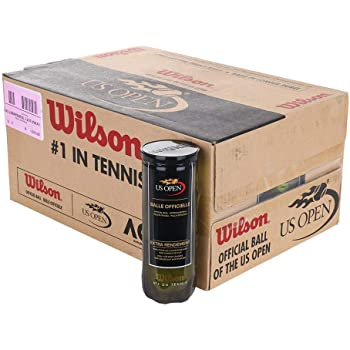 Quantity 24 5547 Wilson Tennis Balls WRT100101 3-Pack Championship Hard Court Tennis Balls