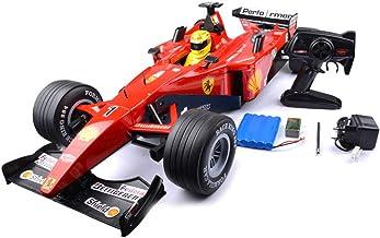 Mogicry Fórmula F1 Mando a Distancia Carreras Muy Grandes 1: 6 Sonido de Simulación Amortiguación de Capacidad Deriva de Carga Modelo Eléctrico de Alta Velocidad Juguete Infantil Coche Rc para Niños 3