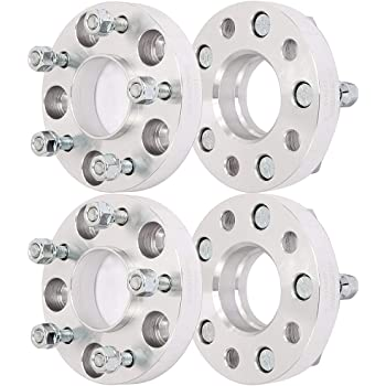 Aintier 4X 1 HUBCENTRIC Wheel Spacers 5x4.75 7//16 Studs 25mm 70.3mm CB For Oldsmobile Starfire Cutlass Buick LeSabre Skylark Chevrolet Chevelle