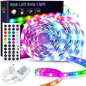 Goadrom 50FT/15M RGB LED Strip Light