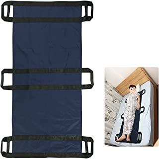 Transfer Boards Slide Belt Patient Lift Bed Assistance Devices Bariatric Hospital Bed Sheets Patient Transport Medical Lift Sling Positioning Pad (6 Handle)