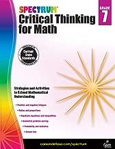 Best spectrum critical thinking for math grade 7 Reviews