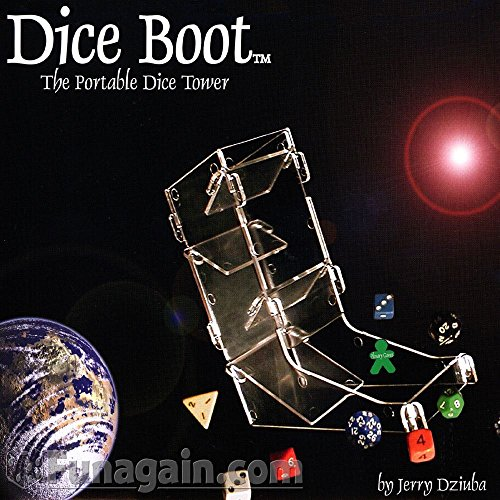 Dice Boot: The Portable Dice Tower