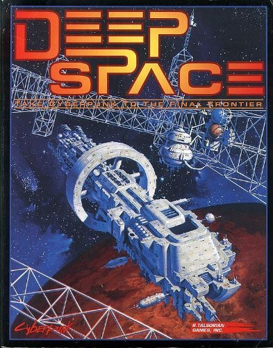 Deep Space: The Interplanetary Supplement for Cyberpunk 2020 by Chris