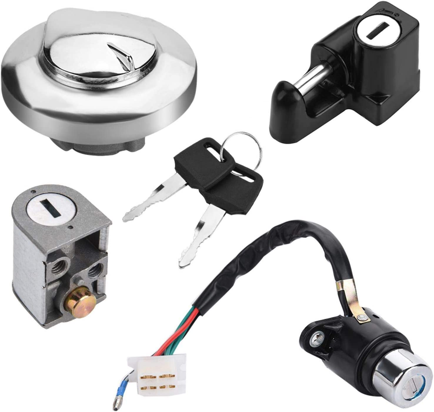 Ignition Lock Seat Reservation Motorcycle Gas Switch Fuel Ca Ultra-Cheap Deals