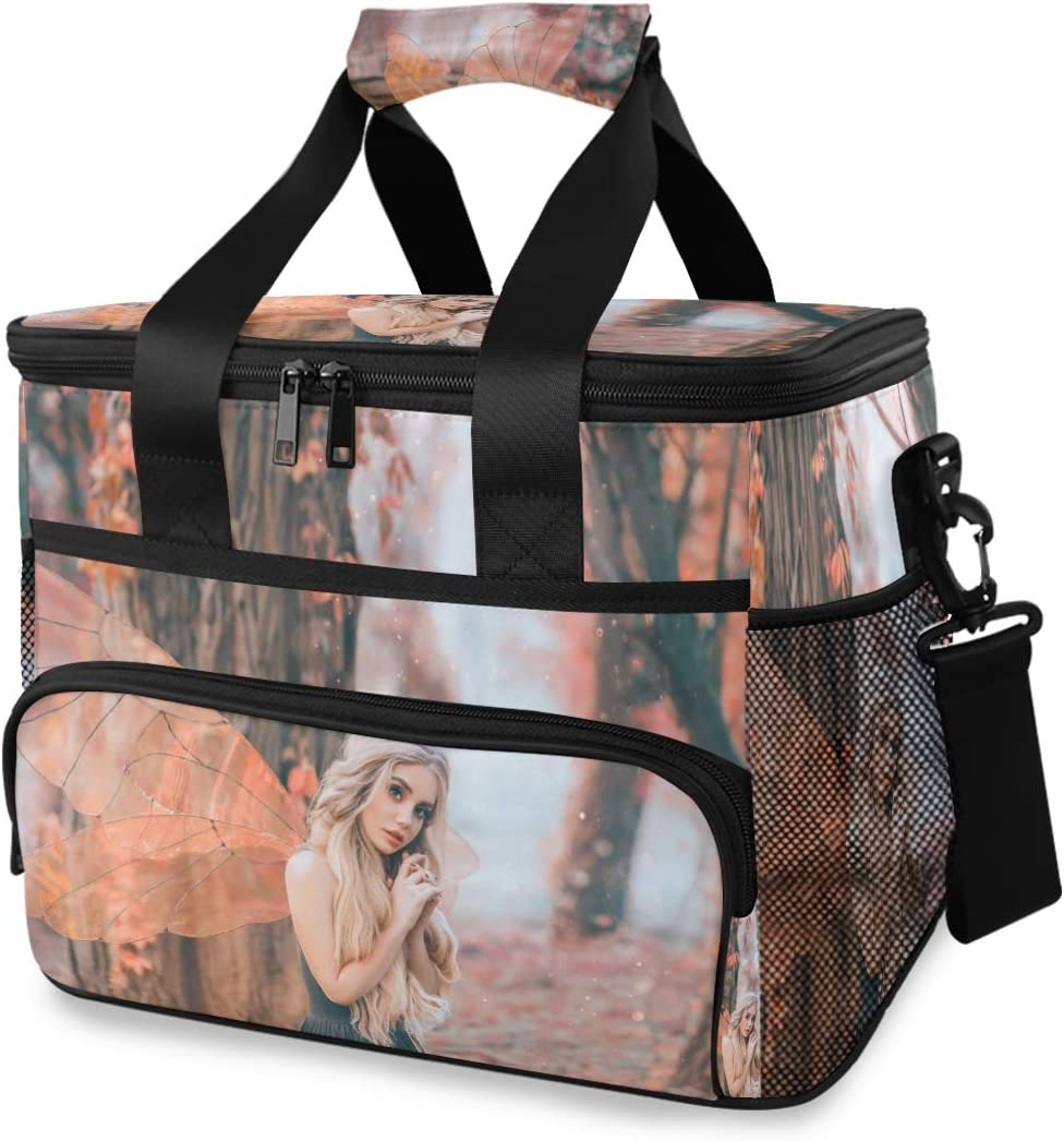 TropicalLife Cooler Lunch Al sold outlet out. Bag Forest Girl Summer Fairy Insula in