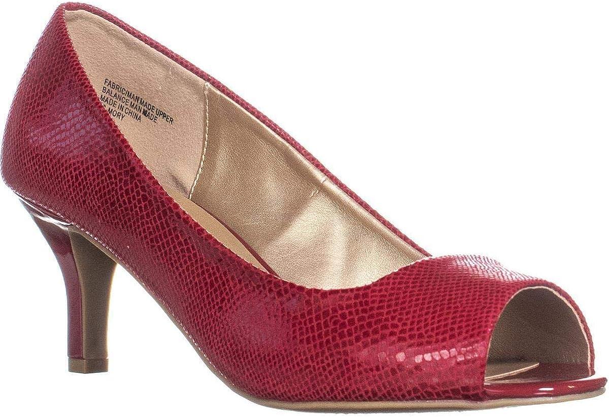 Karen Scott Max 65% OFF Womens Now free shipping Mory Classic Pumps Toe Peep