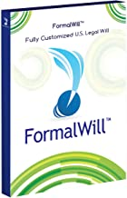 FormalWill Fully Customized U.S. Legal Will Kit 2019 - (Software Key) - Includes Instructions - Valid in Every State