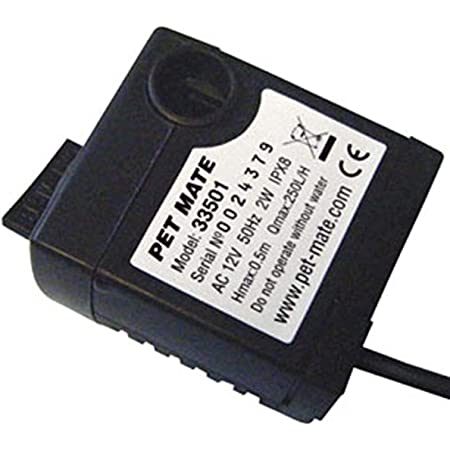 Cat Mate Replacement Pump for Pet Fountain (Power Adapter Not Included)