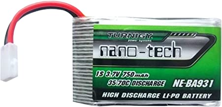 Turnigy Nano-tech 750mah 1S 35~70C Lipo Pack (Fits Nine Eagles Solo-Pro 180)