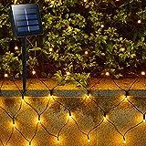 Solar Outdoor Net Lights - 1.5 x 1.5m 100 LED 8...