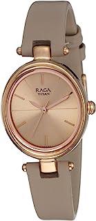 Titan Raga Viva analog Rose Gold Dial Women's Watch NM2579WL01/NN2579WL01