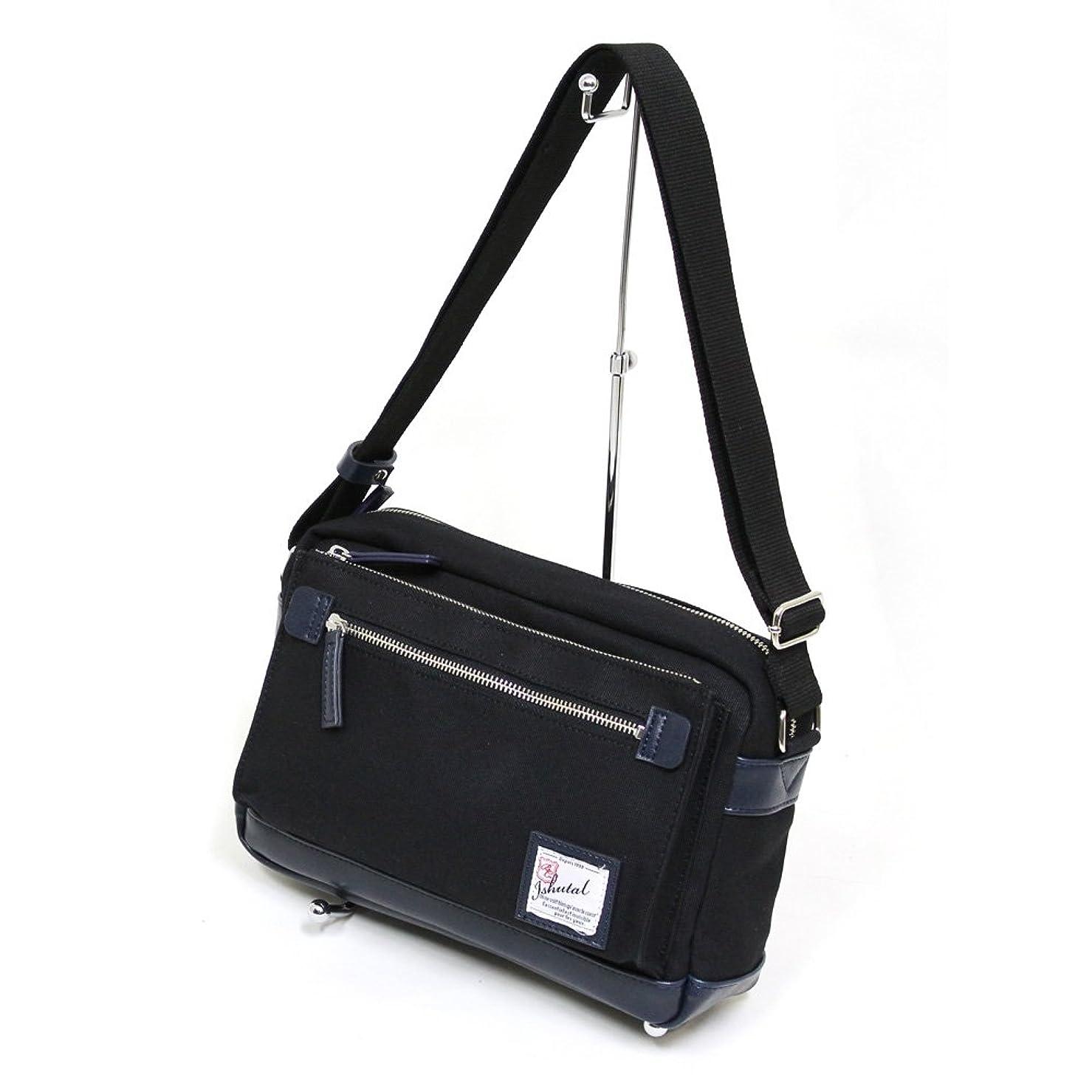感情どれ小さい十川鞄 B.C.+ISHUTAL イシュタル バロック ショルダーバッグ ブラック IBQ-5903-BK