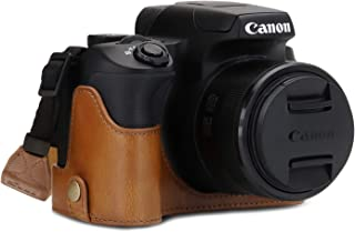 MegaGear Ever Ready Leather Camera Half Case Compatible with Canon PowerShot SX70 HS
