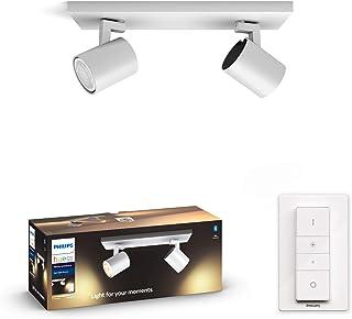 Philips Hue White ambience Runner double spotlight Hue White ambience Runner double spotlight, Smart lighting spot, White,...