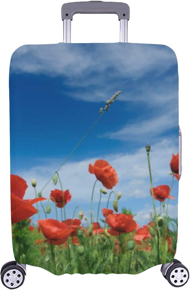 Travel Suitcase Daily bargain sale Protector Evil And Poppy Durable Dead Love Washa Ranking TOP4