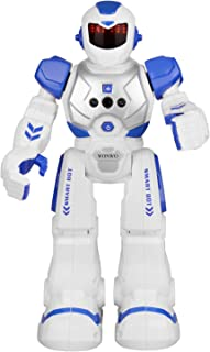 Wonwo Robot Toy for Kids, Smart Robot Kit with Remote and Gesture Control Robotics Gifts for Boys Girls Intelligent Programmable Walking Dancing Singing