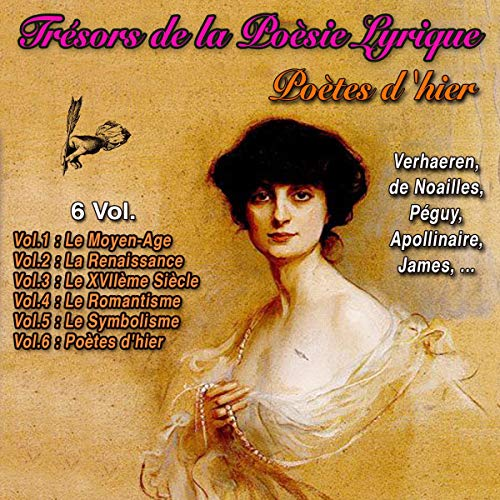 Poètes d'hier audiobook cover art