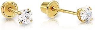 Best screw earrings gold Reviews