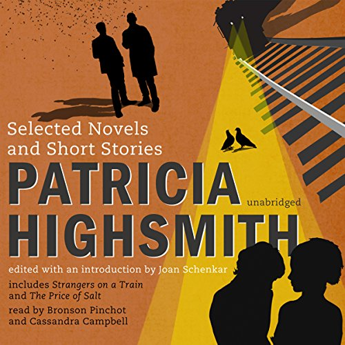 Patricia Highsmith audiobook cover art