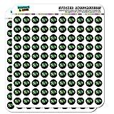 Iguana Head Colorful Planner Calendar Scrapbooking Crafting Stickers