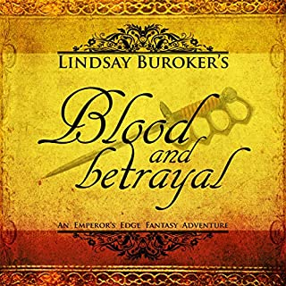 Blood and Betrayal audiobook cover art