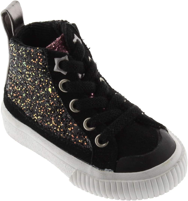 Victoria 1065133-KIDS Basket Tribu Glitter Zip Basses Fille