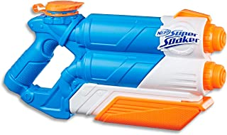 NERF Super Soaker - Twin Tide - Dual Stream Water Blaster - Kids Outdoor Toys - Ages 6+