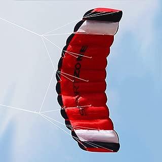 Lorenlli 1.8 m Línea Doble Kitesurfing Paracaídas Suave Parafoil Vela Surf Kite Deporte Kite Enorme Gran Actividad al Aire Libre Playa Kite Volador