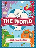 Product Image of the The World: A Map Coloring Book