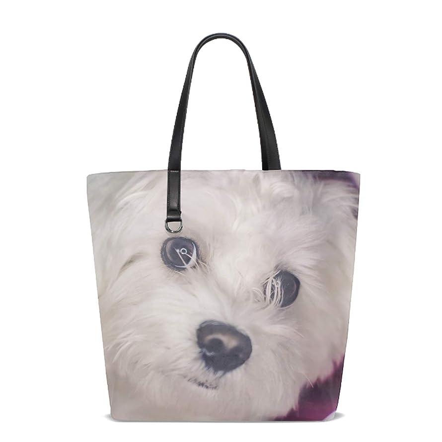 Women's Shoulder Bag Baby Shih Tzu Bag Weekend Shopping Big Bag Tote Handbag Work Bag
