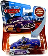 Disney / Pixar CARS Movie 155 Die Cast Car with Lenticular Eyes Series 2 Pit Crew Member Fabulous Hudson Hornet