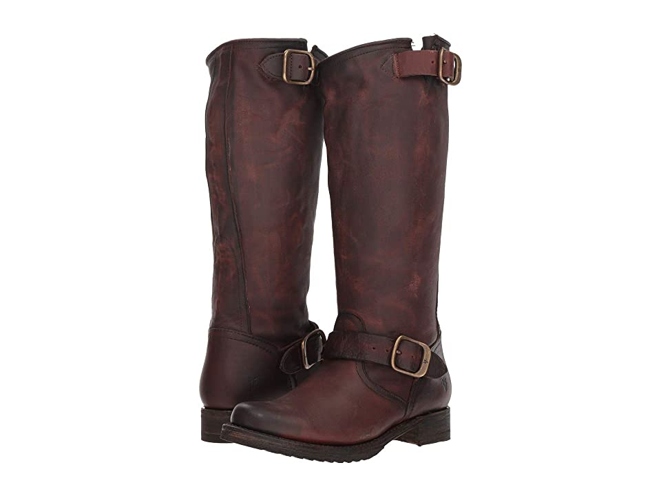 Frye Veronica Slouch 2 (Redwood Washed Oiled Vintage) Women's Pull-on Boots