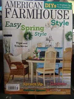 American Farmhouse Style Magazine Apr/May 2019 (84) Easy Spring Style