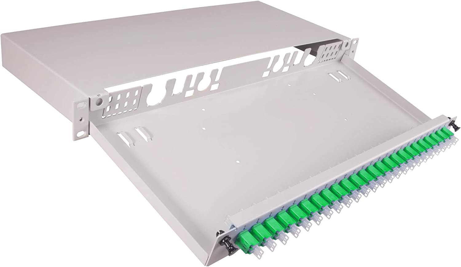 85063227-19 sold out PATCH PANEL Manufacturer OFFicial shop 1U DRAWER TELESCOPIC -85063227