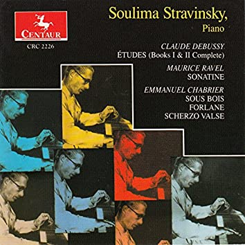 Debussy, Chabrier & Ravel: Works for Piano (Live)