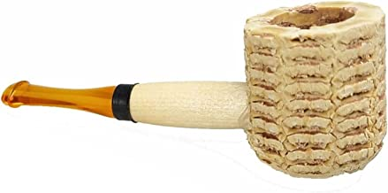 Pipa de Maiz Mini Miniature Natural Missouri Meerschaum Corn Cob Pipe 6230b