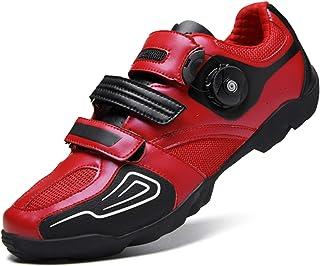 SOTHMALL Road Cycling Shoes Men Spin Unlocked Bike Bicycle Shoes Lightweight Wear Resistant Bike Footwear Casual Road Bike Shoe