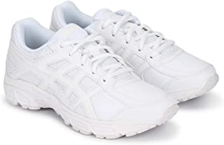ASICS White Coloured Kids Sports Shoes