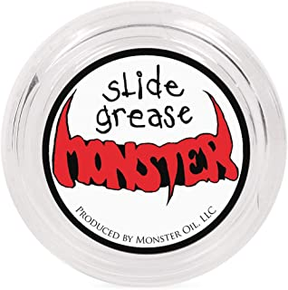 Monster Oil Grease | Synthetic Tuning Slide Lube for Trumpet, Trombone, French Horn, Tuba, Euphonium and other Brass Instruments