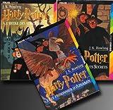 Harry Potter 3 volumes - Harry Potter à l'école des sorciers / Harry Potter et la chambre des secrets / Harry Potter et le prisonnier d'Azkaban - Folio - 01/01/1999