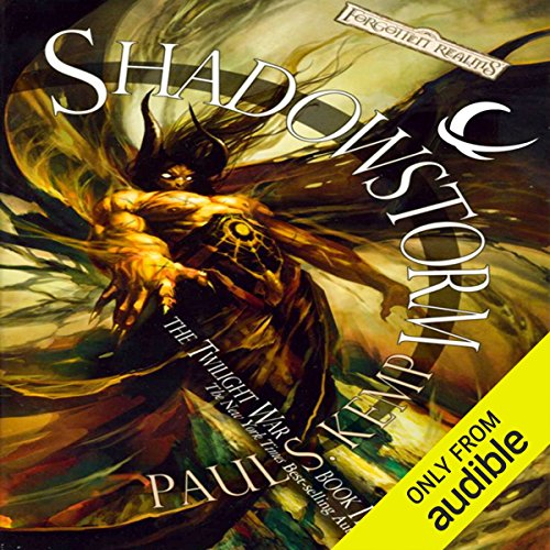 Shadowstorm audiobook cover art