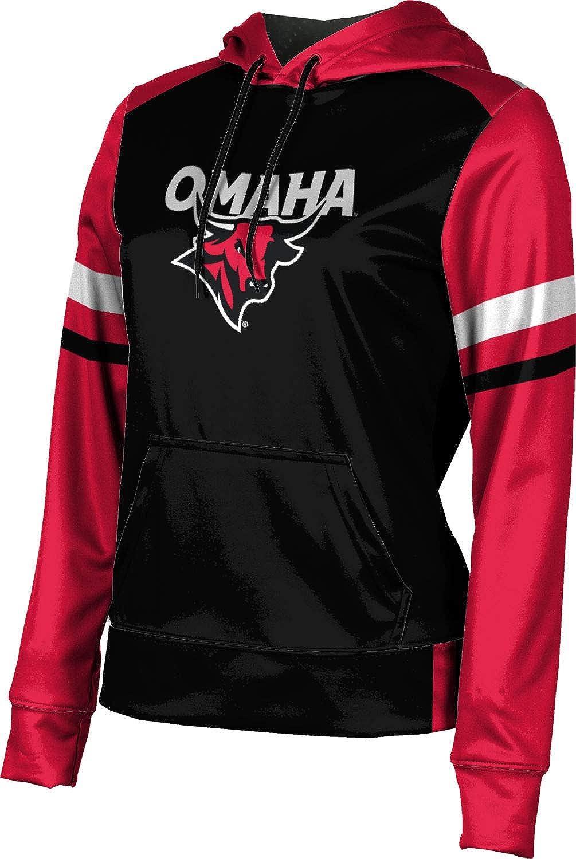 ProSphere University of Nebraska at Omaha Girls' Pullover Hoodie, School Spirit Sweatshirt (Old School)
