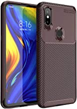 Beetles Series Full Coverage Detachable PC Protective Cover Case for Xiaomi Mi Mix 3(Brown)