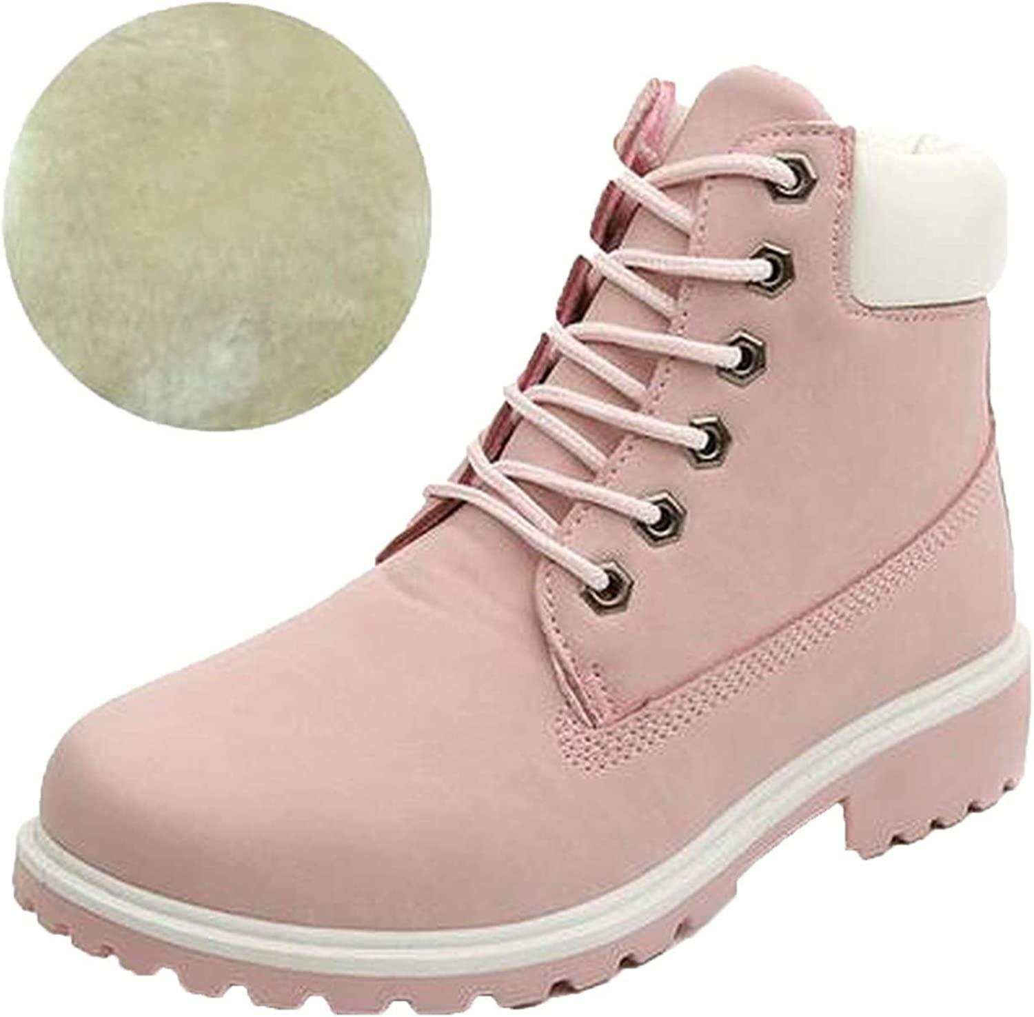 Boots for Round Toe shoes Woman Snow Boots Martin Boots
