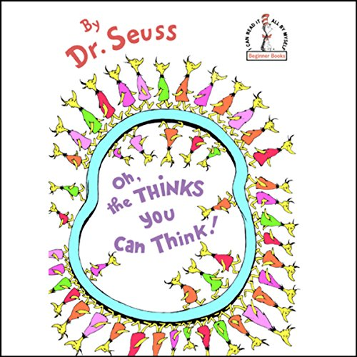 Oh, the Thinks You Can Think! cover art