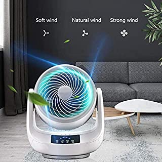 Tpdch Ventilador de Mano, Ventilador de Escritorio con Control de enfriamiento Ajustable, Ventilador silencioso de Cabeza pequeña y Adecuado para el Dormitorio del hogar