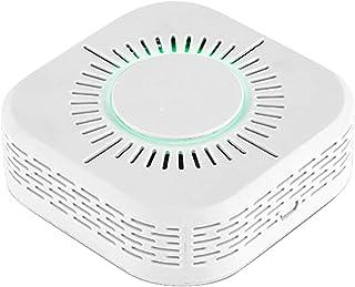 Lilon Tuya Smart WiFi Rookmelders Brandbeveiliging Draagbare rookmelder Batterijgevoed brandalarm met LED-indicator en gel...