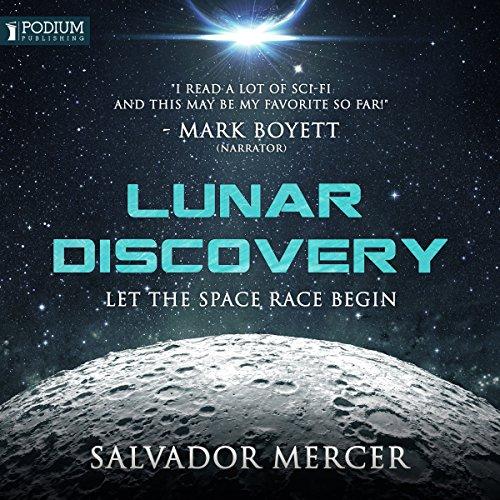 Lunar Discovery audiobook cover art